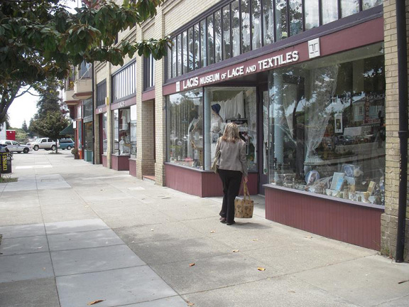 Street view of Lacis in Berkley.